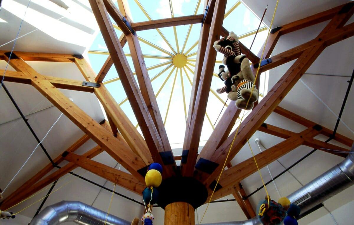 public timber frames to visit VT teddy bear