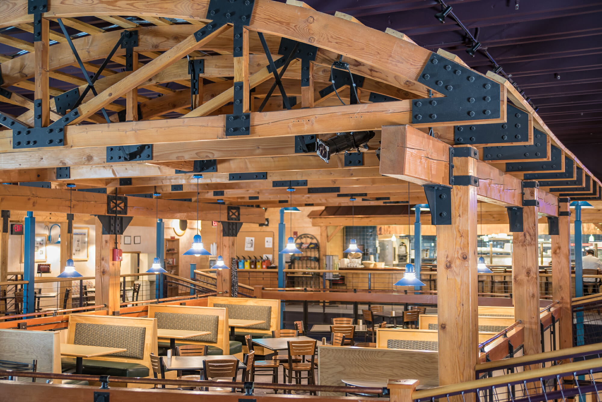 public timber frames to visit middlebury college