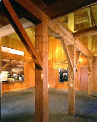 public timber frames you can visit billings farm