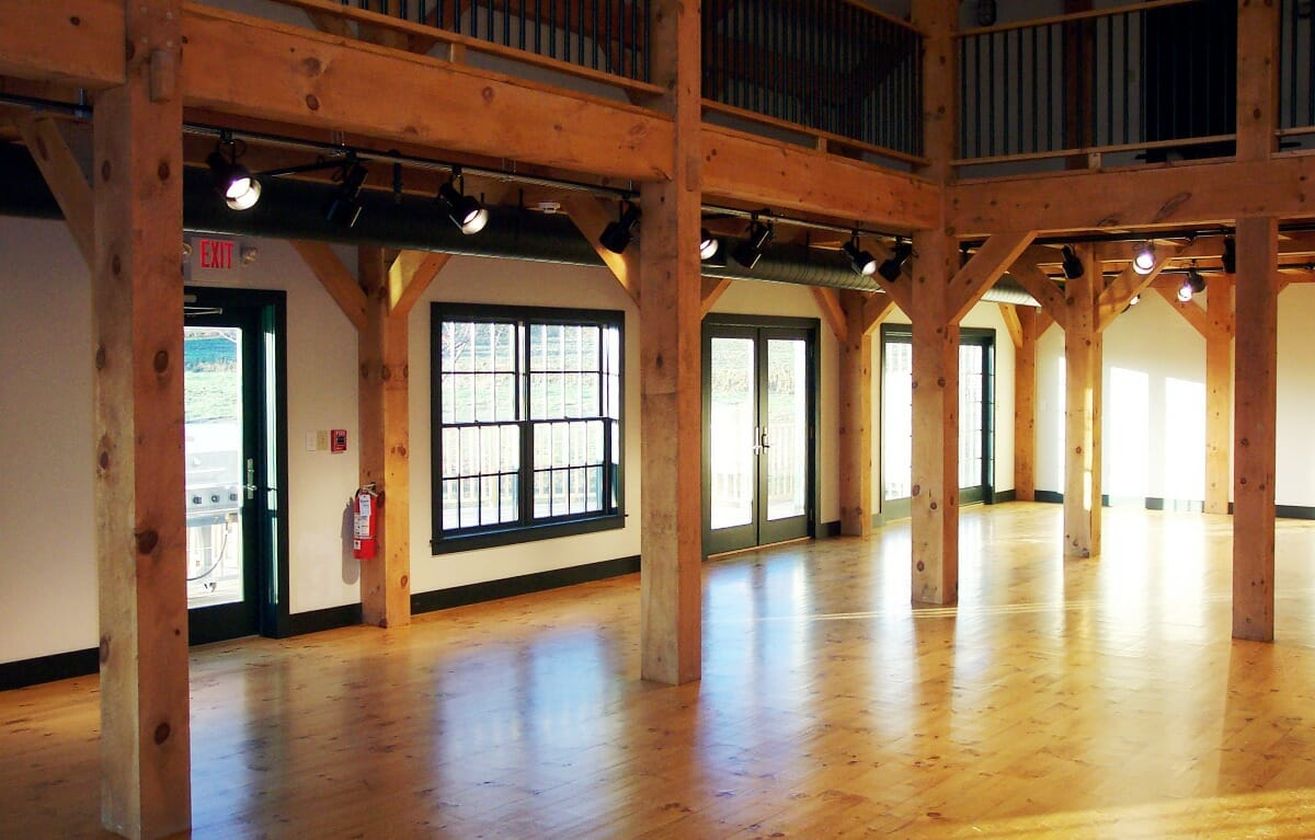 public timber frames you can visit brigham hill barn