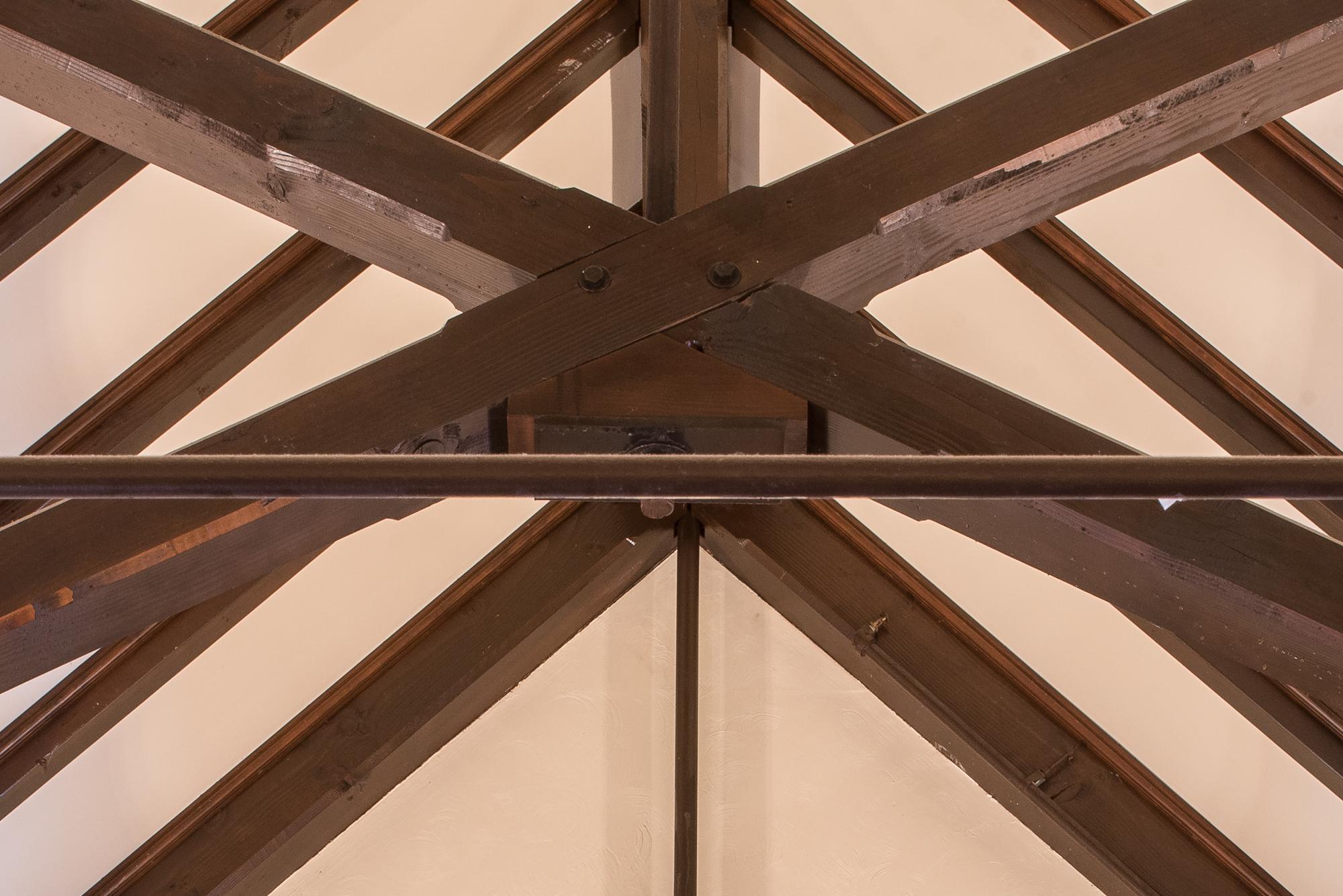 Scissor Trusses For Saint Catherine S Church