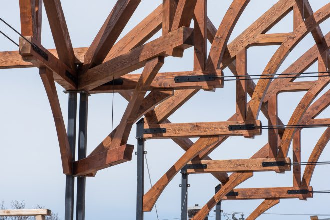 Steel Connectors For Timber Framing