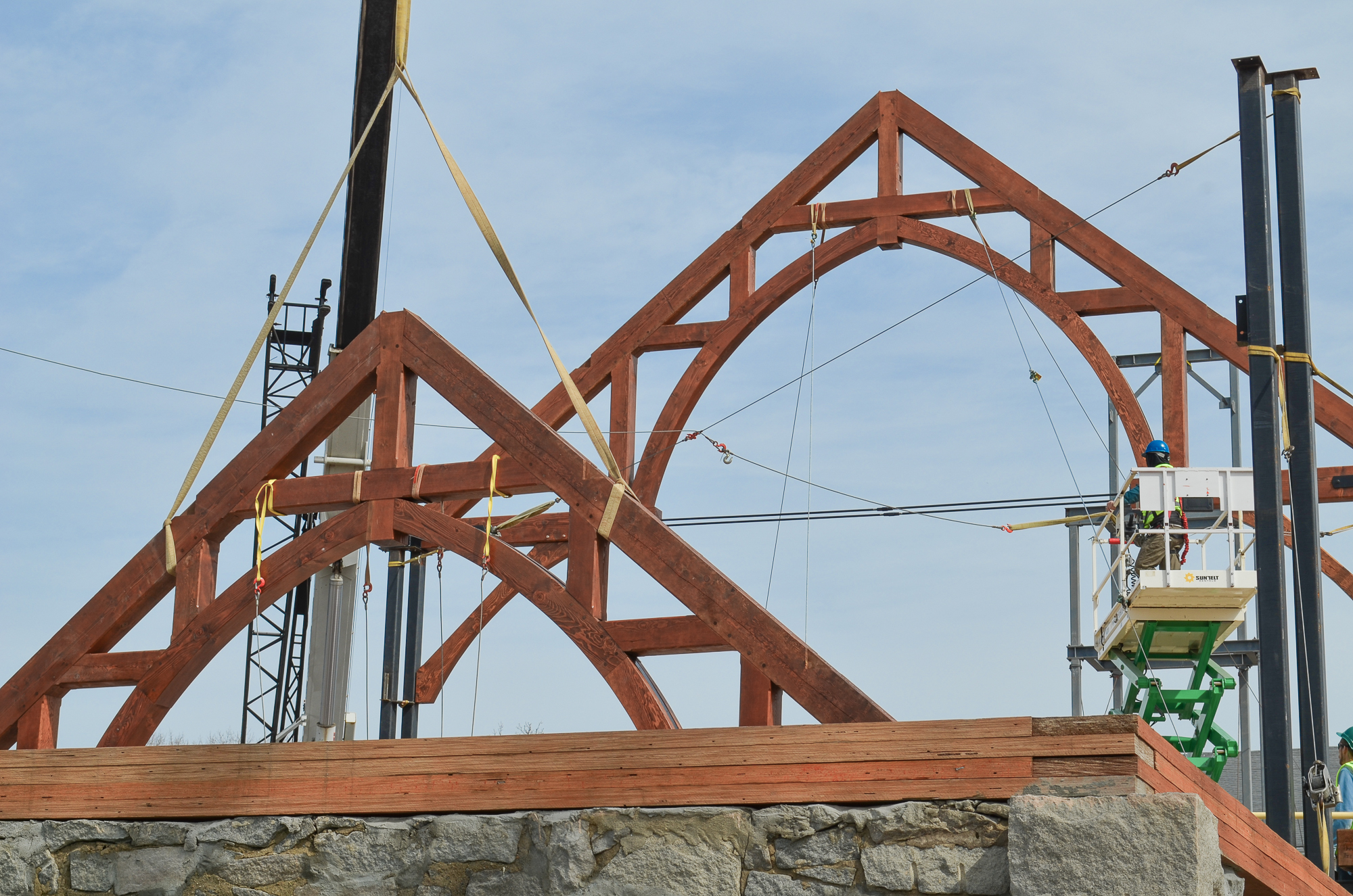 St michael the archangel for Timber trusses for sale