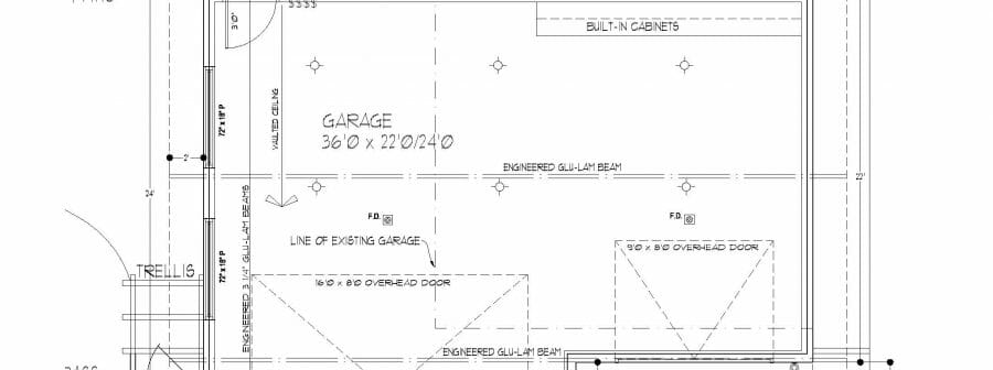 Timber Frame Garage Plans