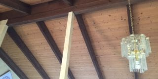 Can I Remove a Post From a 17' Beam?