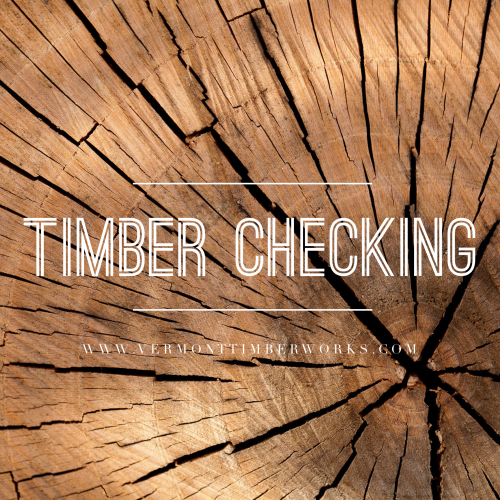 Timber Checking in Building and Timber Framing