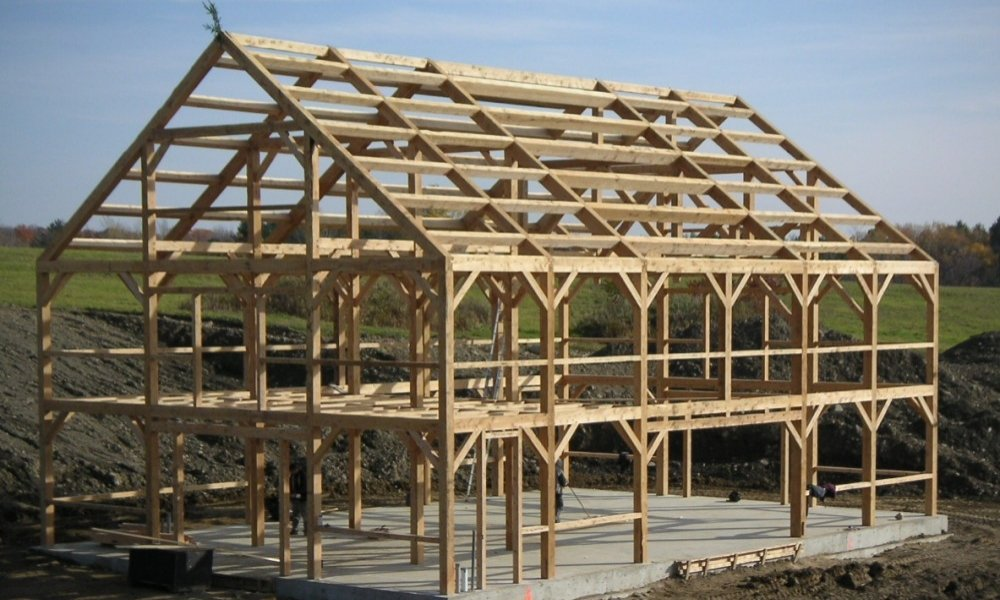 Large Storage Timber Frame Barn