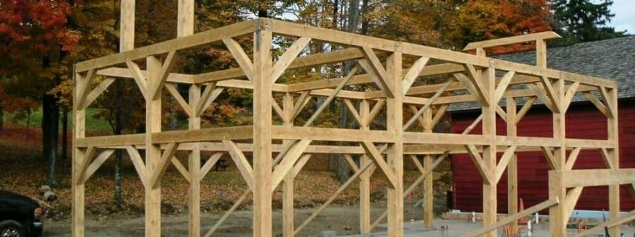 Post and Beam Timber Barn