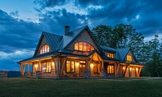Night Pasture Farm Timber Frame Home