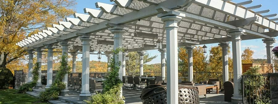 Timber Frame Oak Pergola