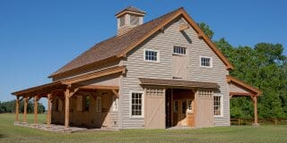 Timber Frame Carolina Horse Barn