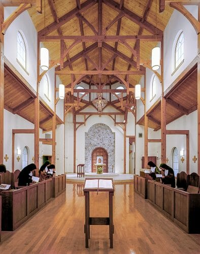 Timber Trusses in the Bethlehem Monastery