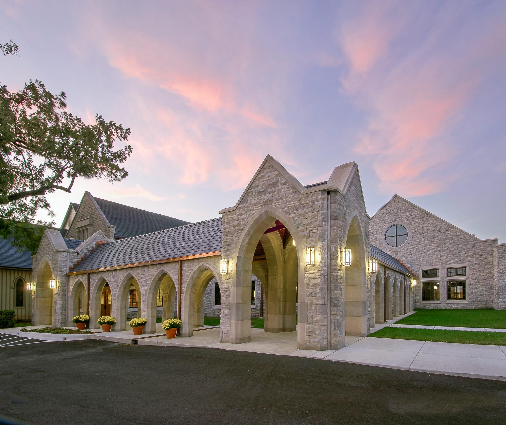 Exterior of Grace Episcopal Church