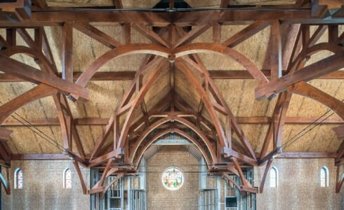 Trusses in St. Michael's Church