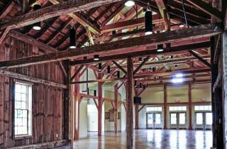 Timber Frame Dining Hall