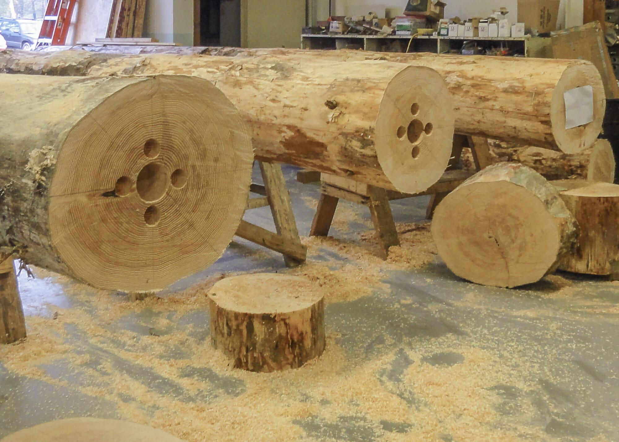 Nemacolin Ski Lodge Modern Timber Frame