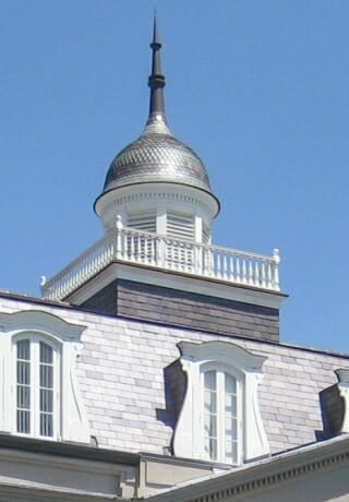Finished Restoration of a historic cupola at Presbytere Museum in New Orleans, LA