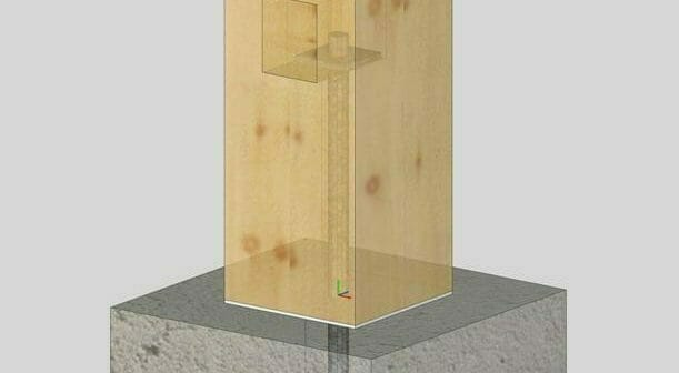 Can you Pour Concrete Around a Timber Post?