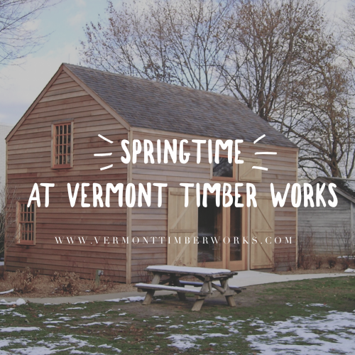 Springtime at VTW. What's new this spring.