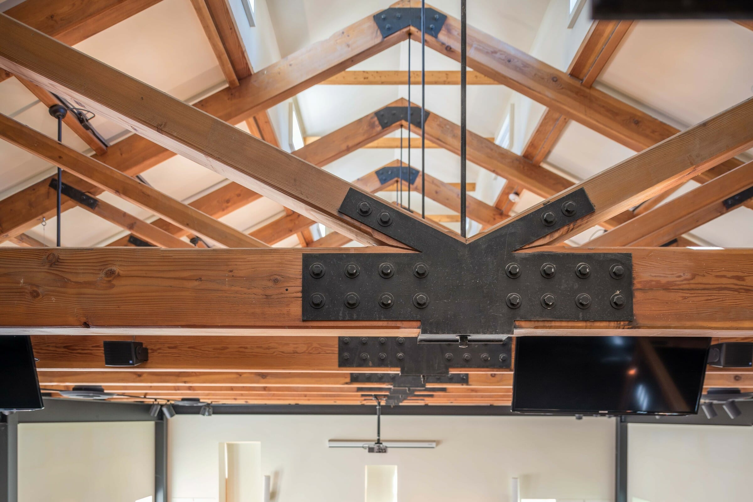 Steel Connected Commercial Trusses | Timber Construction
