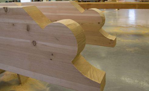 Fabricated Timber Frame Scrolls