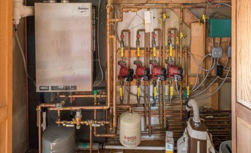 High Efficiency Gas Boiler