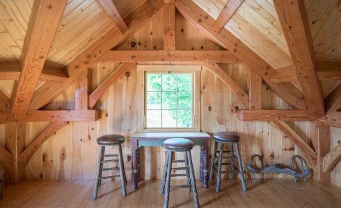 Douglas fir joinery
