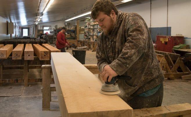 Sanding timbers