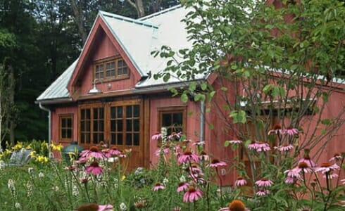 Garden Cottage Pool house in New Jersey