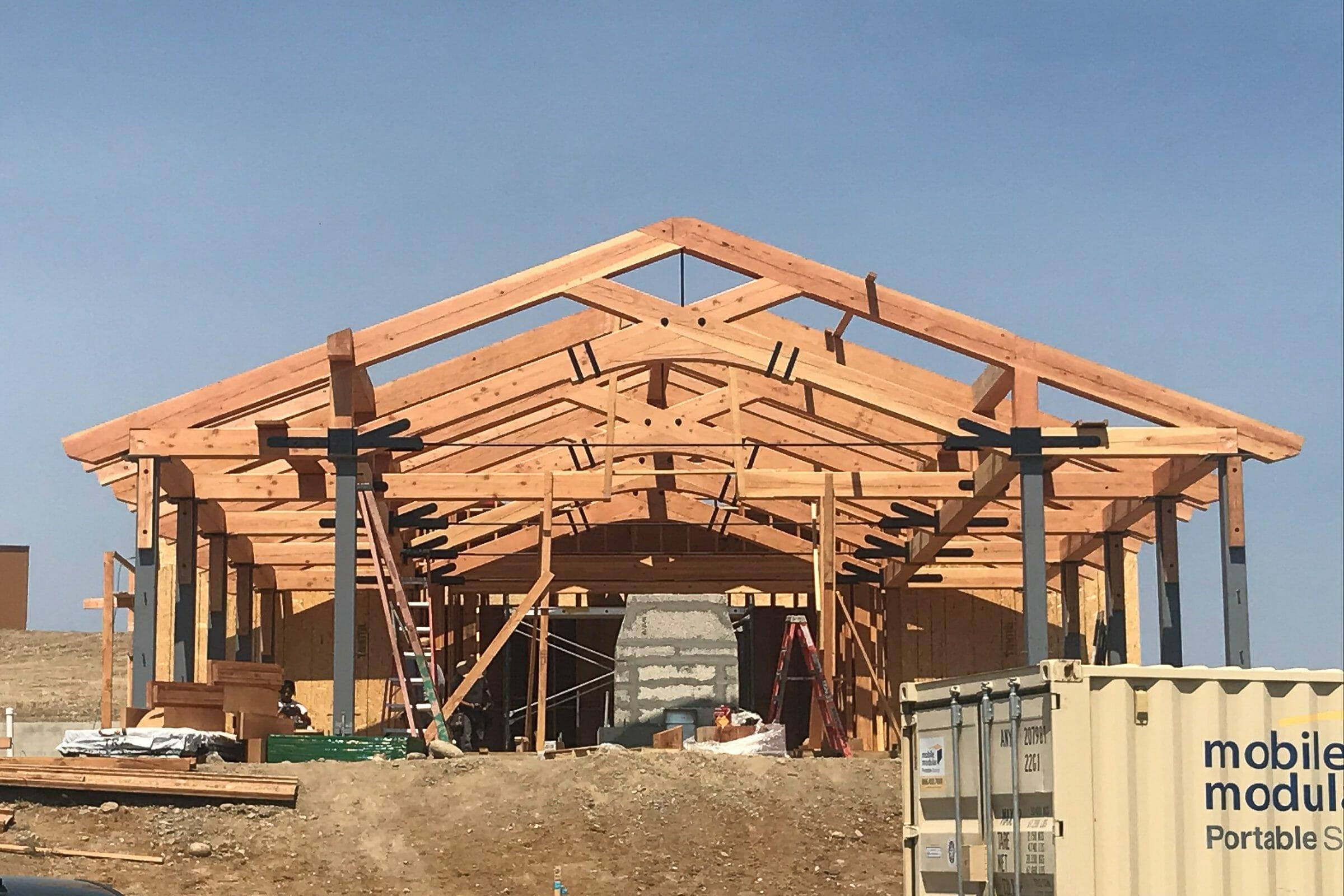 The Rancho Santa Fe Pavilion in Rancho Santa Fe California