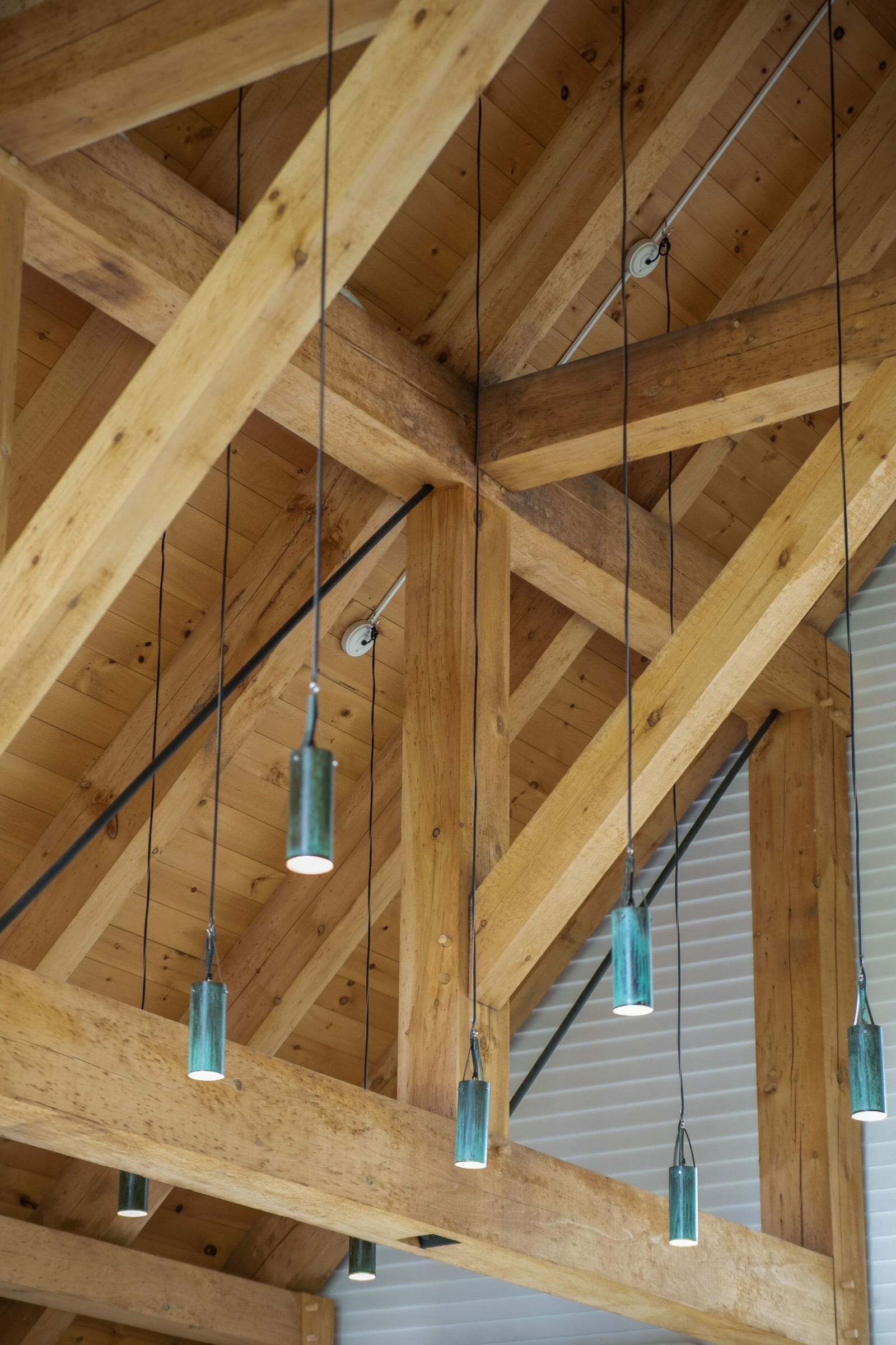 Post and Beam Chapel | Vermont Timber Works, Inc
