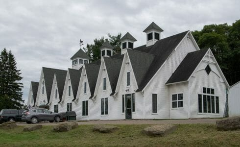Exterior of the True Friends Animal Welfare Center in Montrose, PA
